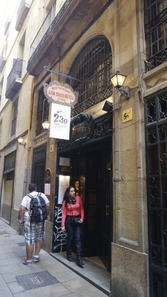 O restaurante mais antigo da Catalunha.