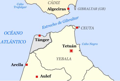 Mapa-da-região-norte-do-Marrocos-em-que-se-pode-Tétouan-e-Ceuta-esta-última-pertencente-à-Espanha